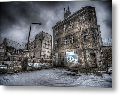 Old Mill Entrance Metal Print
