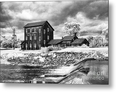Old Mill In Frankenmuth Metal Print by Jeff Holbrook