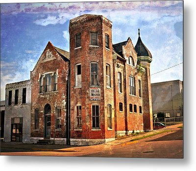 Old Mill Museum Metal Print by Marty Koch