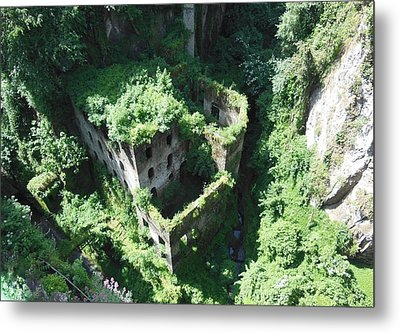 Old Mill Of Sorrento Metal Print