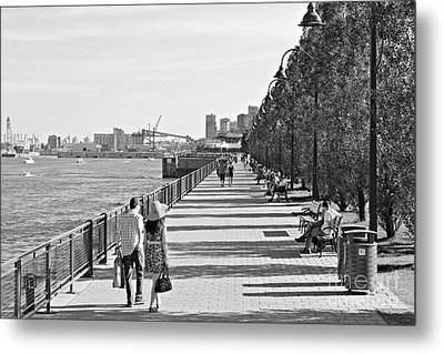 Old Montreal Metal Print by Cendrine Marrouat