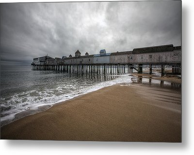Old Orchard Beach Metal Print by Eric Gendron
