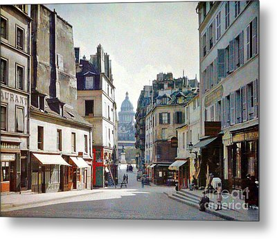 Metal Print featuring the photograph Old Paris by Bill OConnor