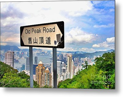 Old Peak Road  Metal Print