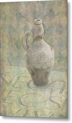 Old Pitcher Abstract Metal Print by Garry Gay