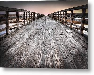 Old Pitt Street Bridge Metal Print