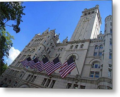 The Old Post Office Or Trump Tower Metal Print by Cora Wandel