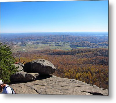 Old Rag Hiking Trail - 121227 Metal Print by DC Photographer