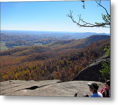 Old Rag Hiking Trail - 121228 Metal Print by DC Photographer
