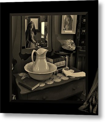 Old Reflections Metal Print by Barbara St Jean