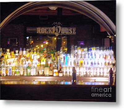 Old Rock House Bar Metal Print by Kelly Awad
