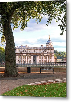 Old Royal Naval College Greenwich Metal Print by Gill Billington