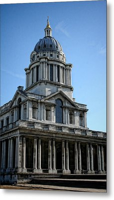 Old Royal Naval College Metal Print by Heather Applegate