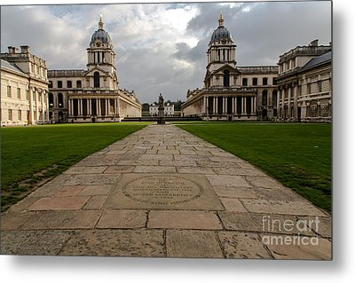 Old Royal Naval College Metal Print by John Daly