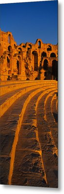 Old Ruins Of An Amphitheater, Roman Metal Print by Panoramic Images