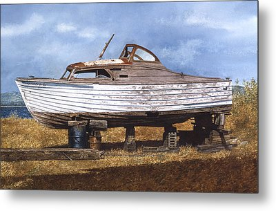 Old Salt Metal Print by Tom Wooldridge