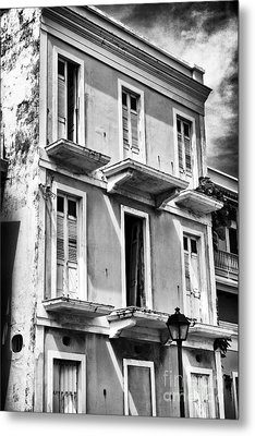 Old San Juan Architecture Metal Print by John Rizzuto
