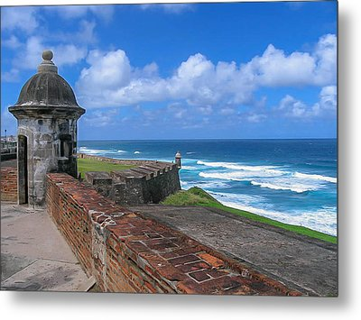 Old San Juan Puerto Rico  Metal Print by Trace Kittrell