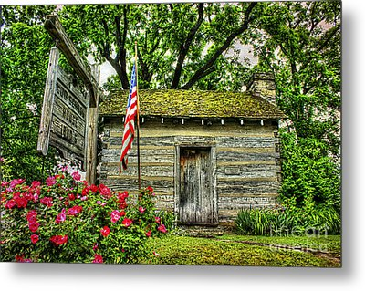 Old School House Metal Print by Darren Fisher