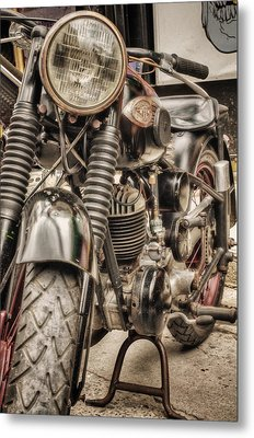 Metal Print featuring the photograph Old School by John Swartz