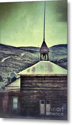 Old Schoolhouse Metal Print by Jill Battaglia
