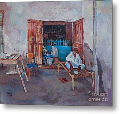 Old Shop Suakin Metal Print by Mohamed Fadul