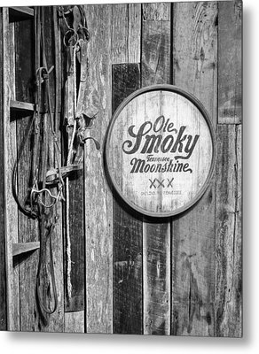 Ole Smoky Moonshine Metal Print by Dan Sproul