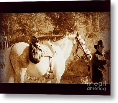 Metal Print featuring the photograph Old Spain by Clare Bevan