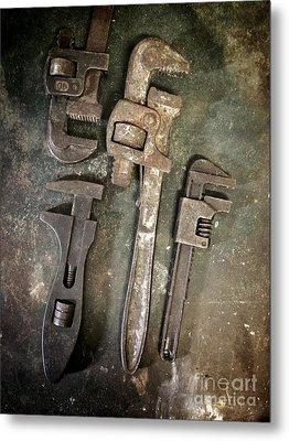 Old Spanners Metal Print