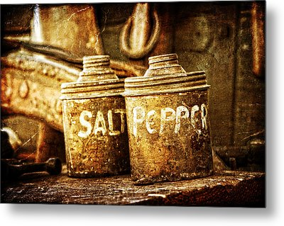 Old Spices Metal Print by Lincoln Rogers