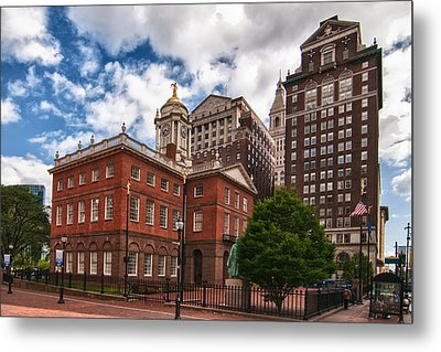 Old State House Metal Print by Guy Whiteley
