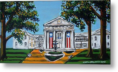 Old State House Metal Print by Mitchell McClenney