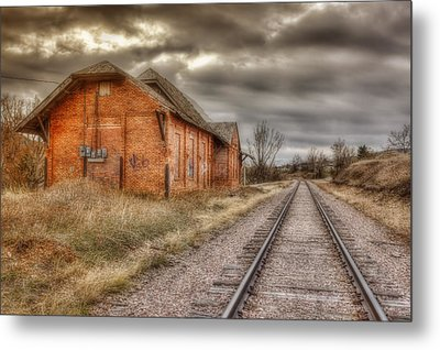 Old Station Metal Print by Michele Richter