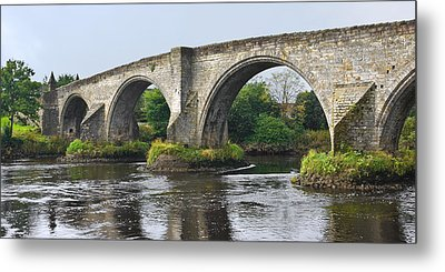 Old Stirling Bridge Scotland Metal Print by Jane McIlroy
