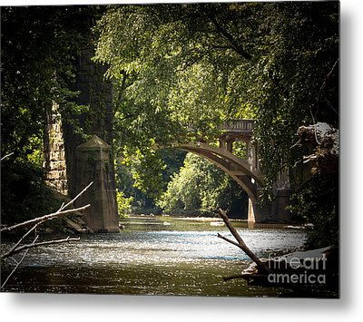 Old Stone Bridge Metal Print