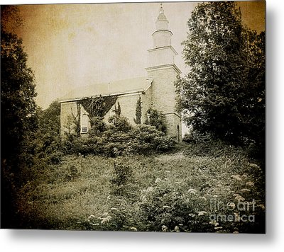 Old Stone Church In Rhinebeck Metal Print