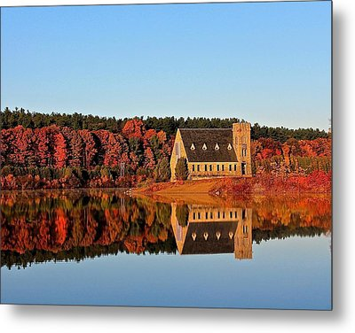 Old Stone Church Metal Print