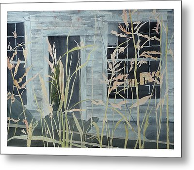Metal Print featuring the painting Old Store At June Bug Road by Joel Deutsch