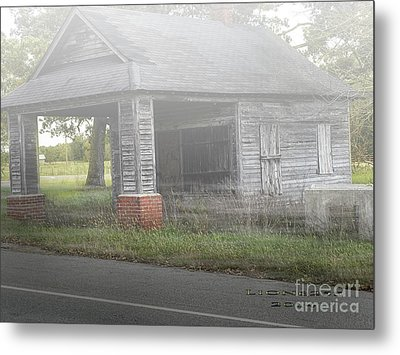 Metal Print featuring the digital art Old Store by Melissa Messick