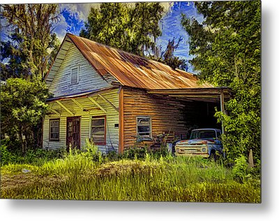 Old Store - Old Ford Metal Print