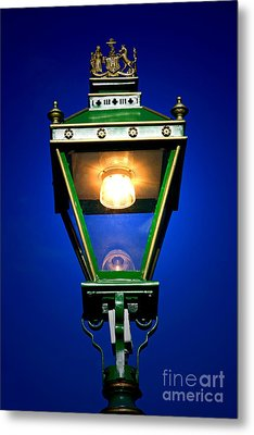 Metal Print featuring the photograph Old Streetlamp by Craig B