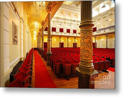 Metal Print featuring the photograph Old Theatre by Michael Edwards