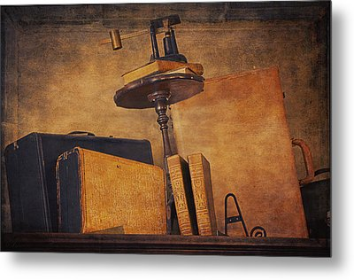 Old Things Il Metal Print by Maria Angelica Maira