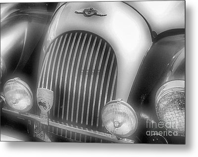 Metal Print featuring the photograph Old Time Car 2 by John S