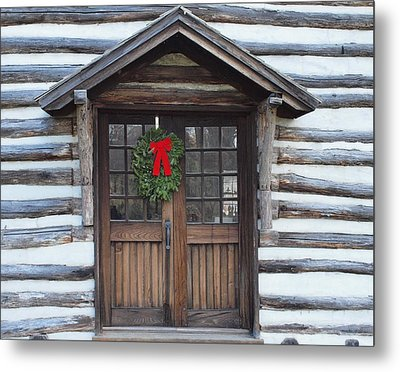 Old Time Door Metal Print by Robert Margetts