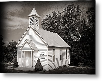 Old Time Religion Metal Print by Steven Michael