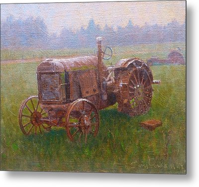 Old Timer Canterbury Metal Print by Terry Perham