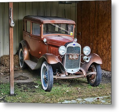 Metal Print featuring the photograph Old Timer II by Victor Montgomery