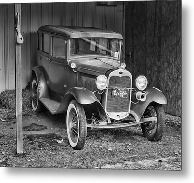 Metal Print featuring the photograph Old Timer by Victor Montgomery