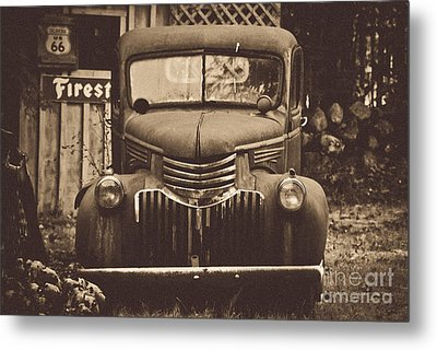 Old Times Metal Print by Alana Ranney
